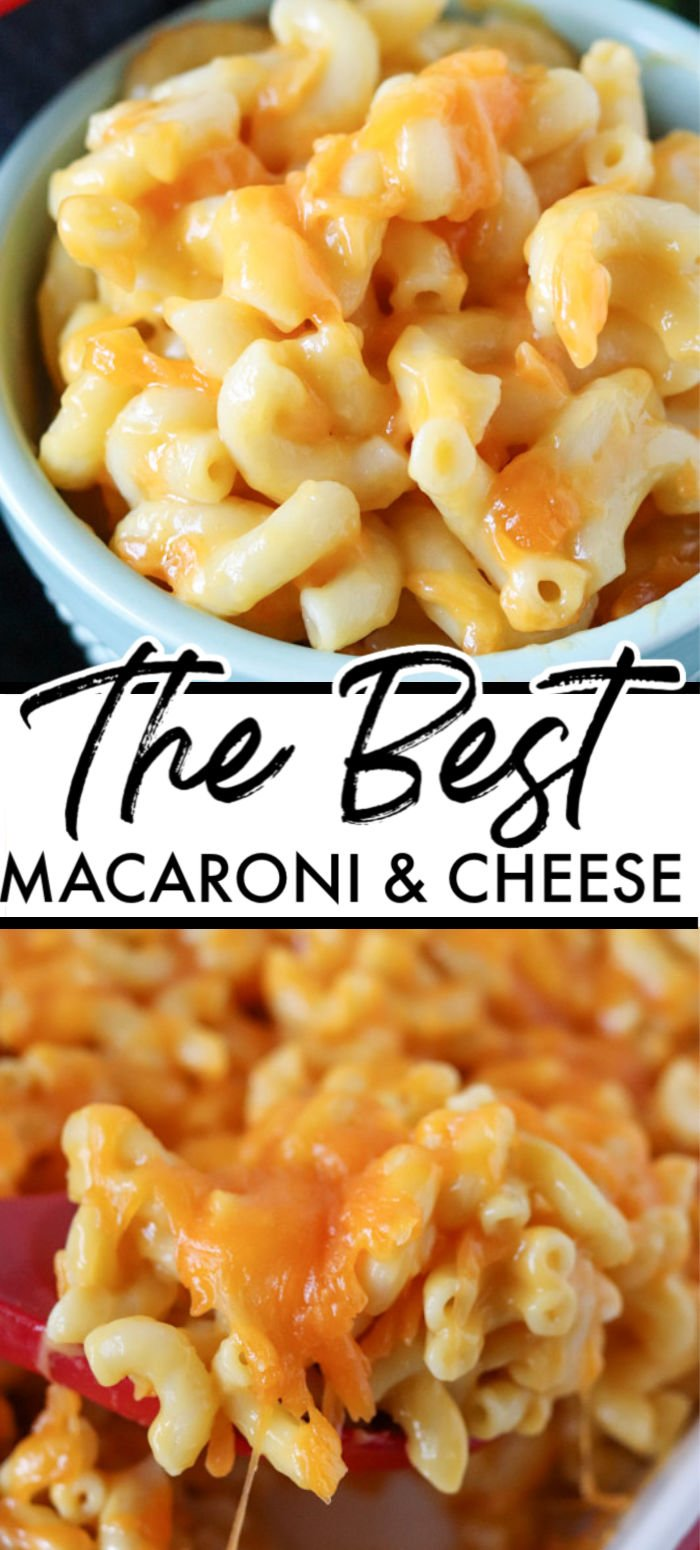 My husband is known for making the best macaroni and cheese. Every time we bring it to an event, he's asked for the recipe. Creamy, baked macaroni and cheese that has a secret ingredient… | www.persnicketyplates.com