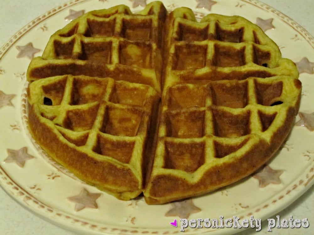 Buttermilk waffles are so easy to make from scratch - all you need is one bowl, a whisk, and a few everyday ingredients. Ditch the mix and give these homemade waffles a try!
