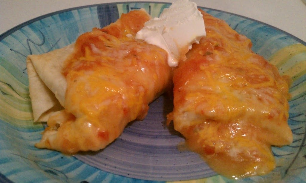 Molly's Beef Enchiladas