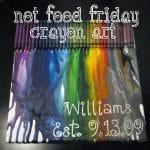 Not Food Friday: Crayon Art