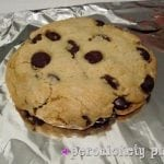 Giant Chocolate Chip Cookie…for one (or two)
