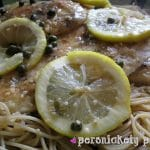 Chicken Piccata with Whole Wheat Pasta