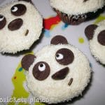 Adorable Chocolate Panda Cupcakes