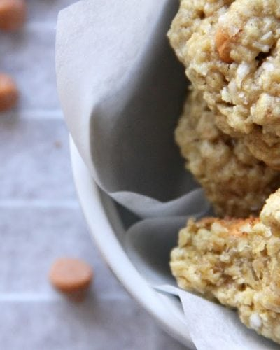 Coconut Oatmeal Scotchies » Persnickety Plates