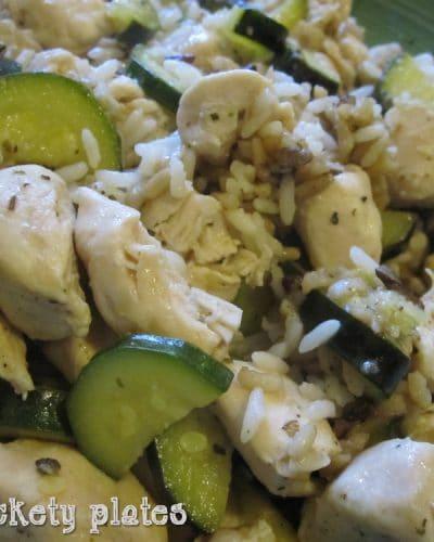 Garlic Chicken & Zucchini Stir Fry   Persnickety Plates
