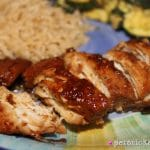 Slow Cooker Honey Bourbon Chicken | Persnickety Plates