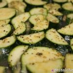 Sometimes simple is best. That's the case with this Roasted Zucchini! | Persnickety Plates