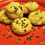 Cream Cheese Sprinkle Cookies