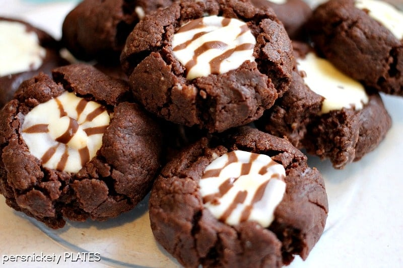 Fiesta Fudge Cookies | Persnickety Plates