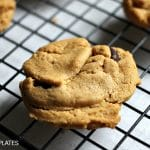 {Easiest Ever} Peanut Butter Chocolate Chip Cokies