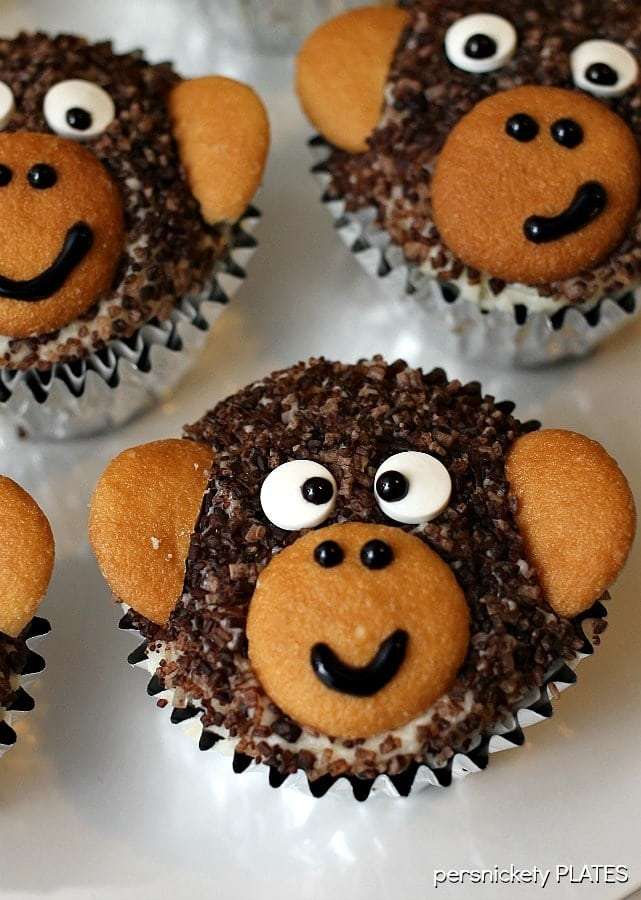 Monkey Cupcakes 187 Persnickety Plates