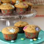 Peanut Butter M&M Muffins