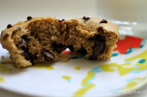 Persnickety Plates: Buttermilk Dark Chocolate Chip Muffins