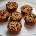 Baked Oatmeal Chocolate Chip Breakfast Cups | Persnickety Plates