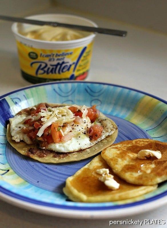 Huevos Rancheros & Pancakes