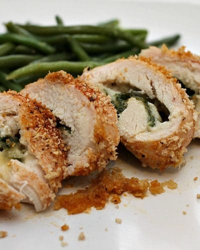 Pepper Jack & Spinach Stuffed Cajun Chicken | Persnickety Plates