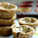 Browned Butter Chocolate Chip Cookie Cups