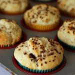Cream Cheese Chocolate & Peanut Butter Chip Muffins