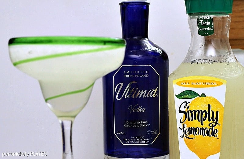 Ultimate Lemonade - a slushy, boozy, drink full of vodka and lemonade that's perfect for summertime!