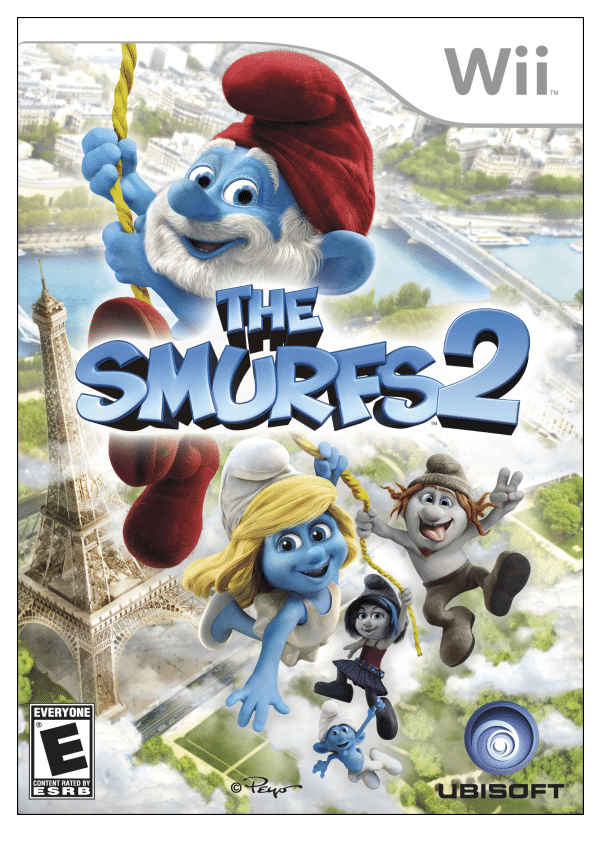 Keep Calm & Smurf On {Smurfs 2 Wii Game Review}