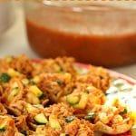 Salsa Chicken Scoops with Zucchini