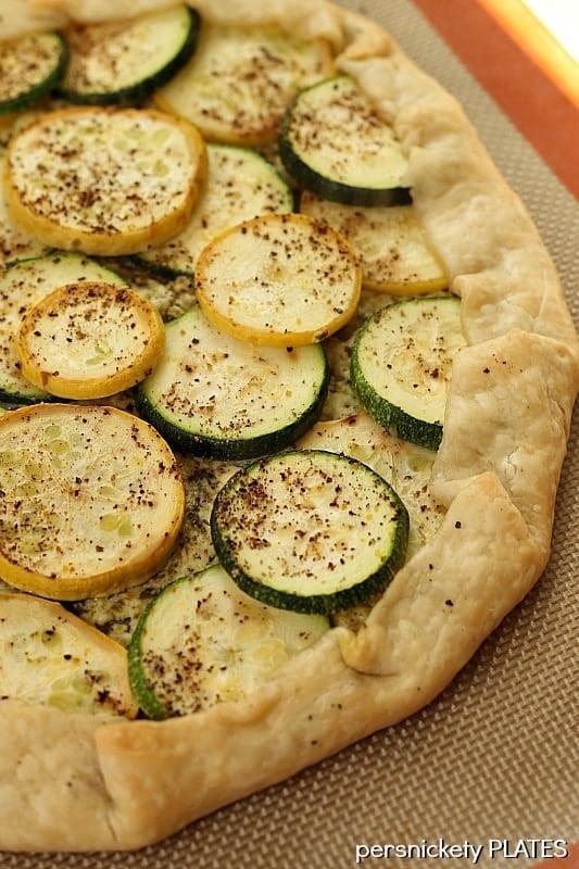 Zucchini & Squash Galette