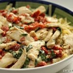 Sun Dried Tomato & Basil Chicken Fettuccine   Persnickety Plates