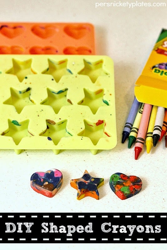 Not Food Friday: DIY Shaped Crayons