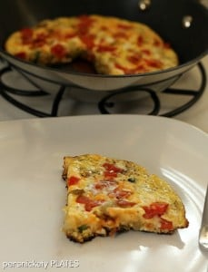 Potato & Veggie Frittata #pileontheproduce