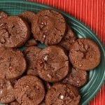French Sables Korova {Double Chocolate Cookies}