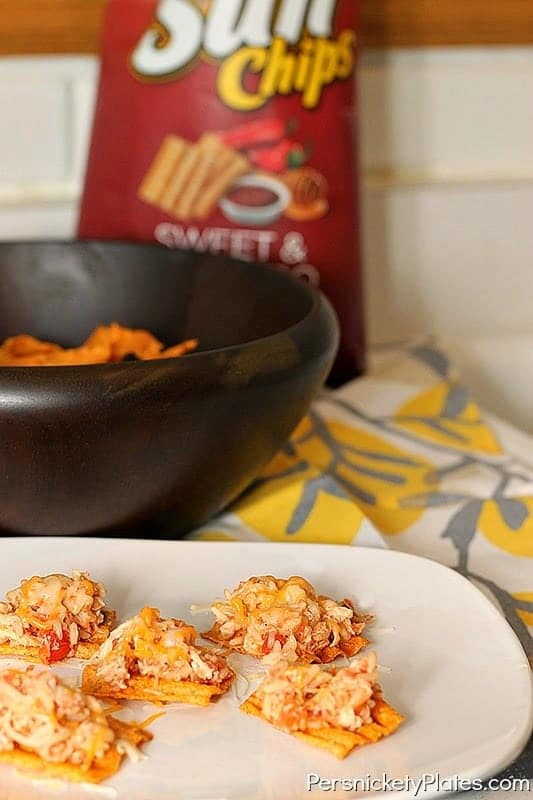 "Salsa Chicken ""Nachos"" with SunChips {+ a giveaway!} 