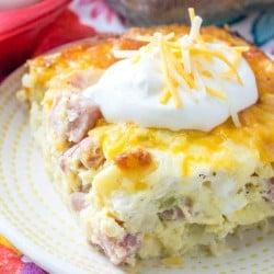 ham-potato-breakfast-casserole-for-two-SQUARE