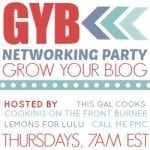 Want to meet new blog friends? {Grow Your Blog Networking Party}