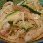 Zucchini Carbonara with Chicken