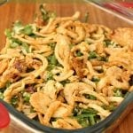 Green Bean Casserole (without the canned soup)
