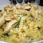 Lemon Basil Pasta with Chicken