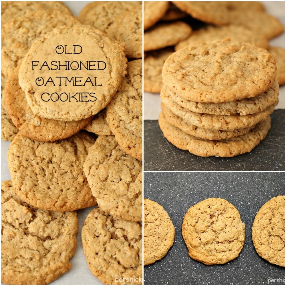 Old fashioned oatmeal cookie