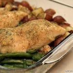 One Dish Ranch Chicken & Veggie Bake | Persnickety Plates