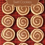 Chocolate Mocha Swirl Cookies