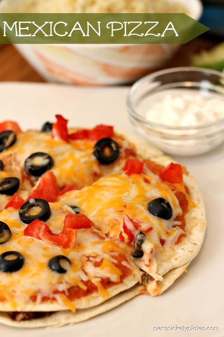 Mexican Pizza » Persnickety Plates