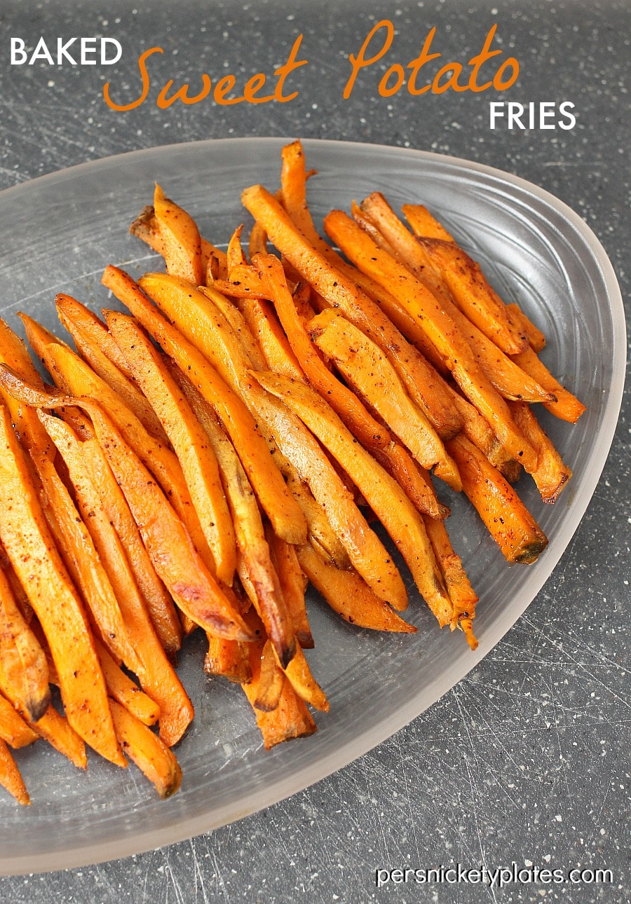 The Best Oven Baked Sweet Potato Fries
