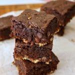 Pretzel Crusted Brownies