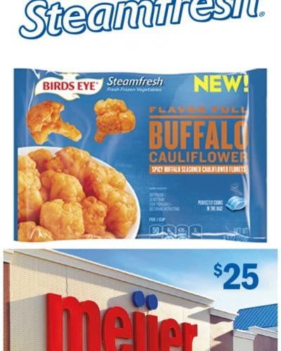 Shopping for Steamfresh Sides at Meijer | Persnickety Plates