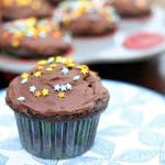 Chocolate Milk Cupcakes with Chocolate Milk Buttercream Frosting