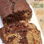 Chocolate Marble Zucchini Bread