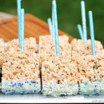 Baby Shower Rice Krispie Treat Pops   Persnickety Plates