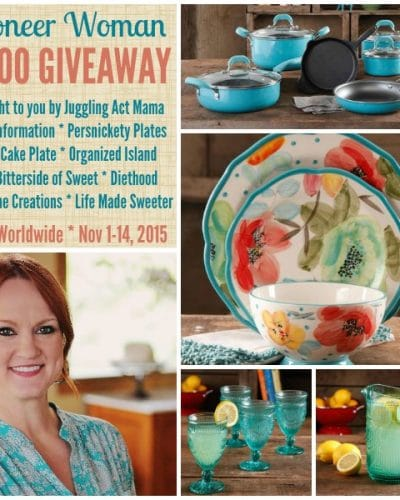 Pioneer Woman Giveaway | Persnickety Plates