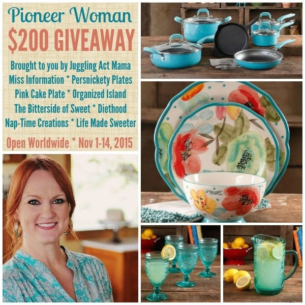 {Giveaway} Pioneer Woman Merchandise