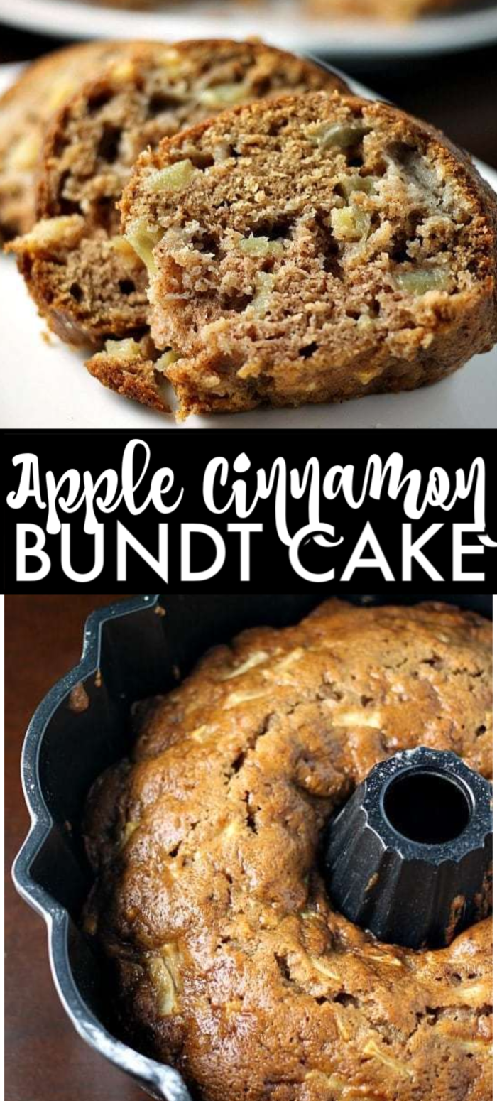 Apple Cinnamon Bundt Cake is moist and flavorful and is the perfect way to use up your favorite apples. This from scratch apple bundt cake recipe is great all year long! | www.persnicketyplates.com