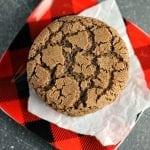 Crisp Chocolate Crinkle Cookies